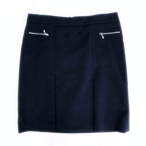 JONES NEW YORK Women's Navy Career Midi Skirt 12